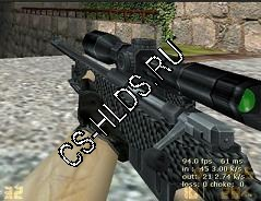 Carbon Fiber V1 Default AWP re-skin