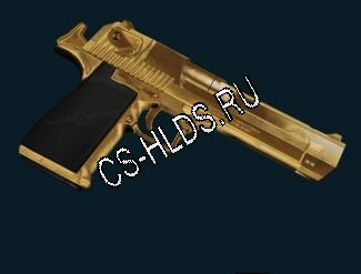 Gold & Chrome IMI Desert Eagle .50 AE