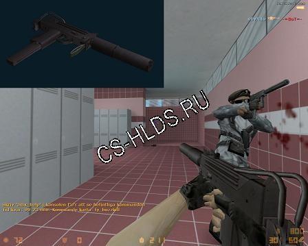 Скачать бесплатно Bullet_Head's Mac10 (silenced) - MAC-10 - Модели оружия cs 1.6