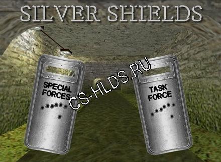 Скачать бесплатно Silver Shields v2.0 - Щиты - Модели оружия cs 1.6