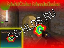 MultiColor Muzzleflashes