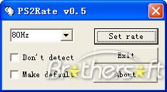 Скачать бесплатно Ps2Rate - Для мыши - Программы для cs 1.6