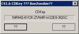 Counter-Strike 1.6 CD Key Generator