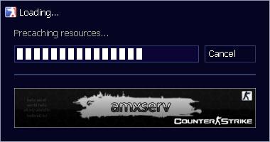 Скачать бесплатно Loading Game Banner - Серверные - Плагины amxx для CS 1.6