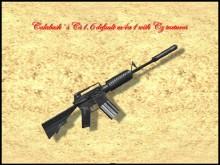 Calabash Cs1.6 Default M4a1 With Czm4 Textures 1464