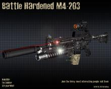 battle hardened m4-203
