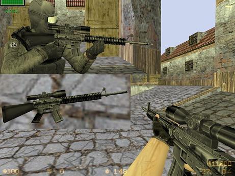 M16A4 Sniper's Edition